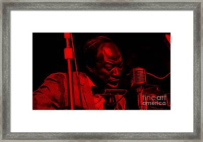 Jimmy Reed Collection Framed Print by Marvin Blaine