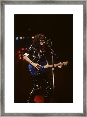 Joe Perry Framed Print