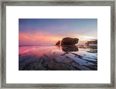 Kukup Beach - Java Framed Print