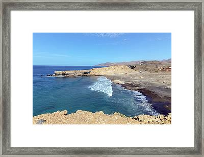 La Pared - Fuerteventura Framed Print