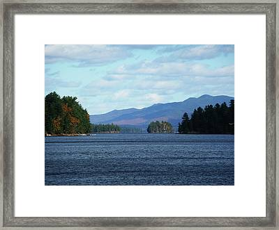 Lake Framed Print by Kate  Leikin