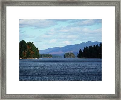Lake Framed Print by Kate  Leikin
