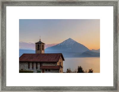 Lake Thun - Switzerland Framed Print by Joana Kruse