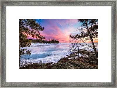 Framed Print featuring the photograph Lake Winnipesaukee by Robert Clifford