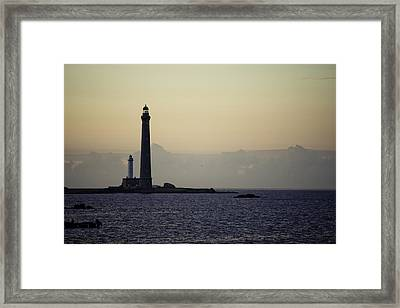 Lighthouse Framed Print by Nailia Schwarz