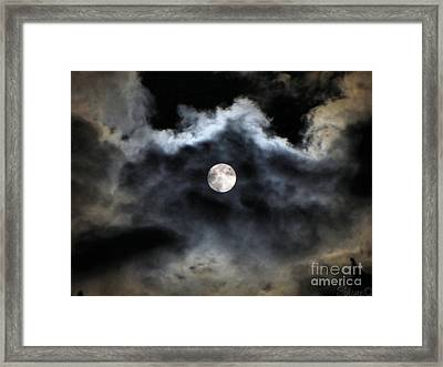 Lisas Wildlife Moons 2 Framed Print