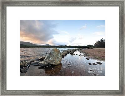 Loch Morlich Framed Print by Nichola Denny