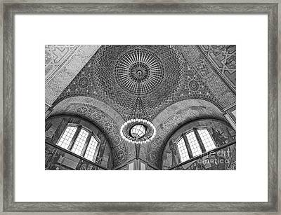 Los Angeles Central Library. Framed Print