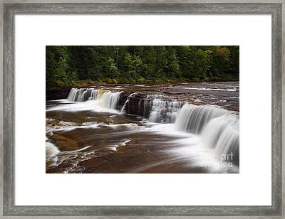 Lower Tahquamenon Falls Area Framed Print