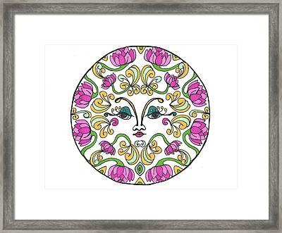 Lotus Princess Framed Print