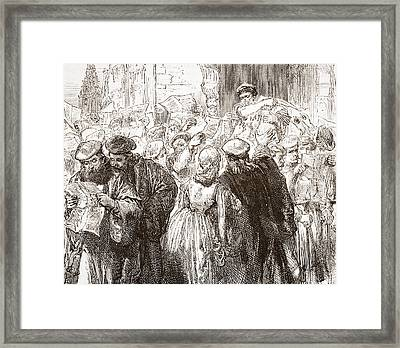 Martin Luther Framed Print