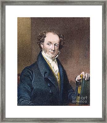 Martin Van Buren (1782-1862) Framed Print by Granger