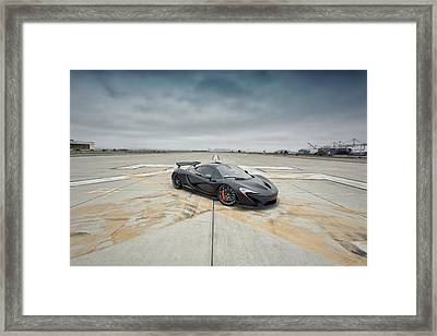 Framed Print featuring the photograph #mclaren #mso #p1 by ItzKirb Photography