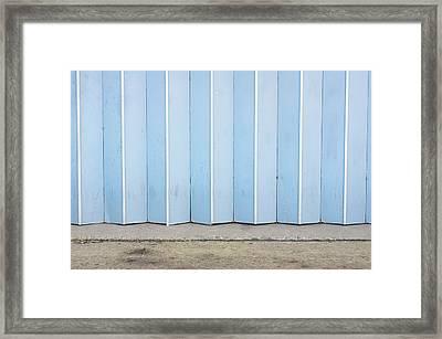 Metal Door Framed Print by Tom Gowanlock