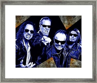 Metallica Collection Framed Print