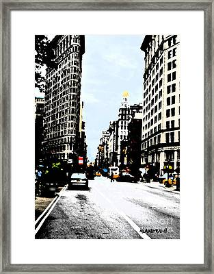 #4 New York, New York Framed Print by Miguelandrew Art