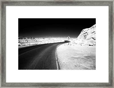 4 Miles Framed Print