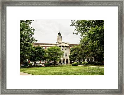 Mississippi College - Nelson Hall Framed Print