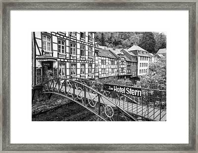 Monschau In Germany Framed Print