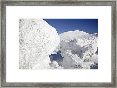 Mount Washington - New Hampshire Usa Framed Print by Erin Paul Donovan