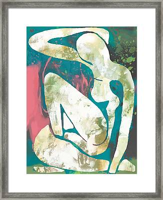 New Pop Art Nude Poster   Framed Print