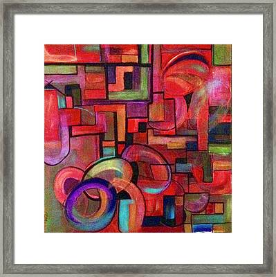 Hyways And Byways Framed Print