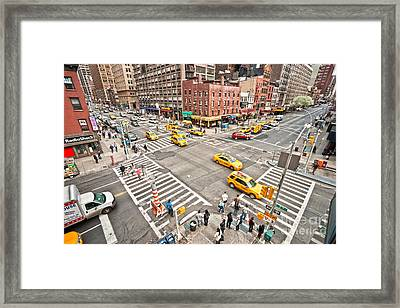 New York City Framed Print by Luciano Mortula