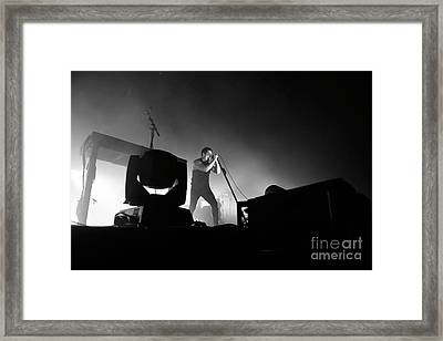 Nine Inch Nails Framed Print