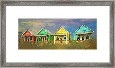Framed Print featuring the digital art 4 Of A Kind by Dale Stillman