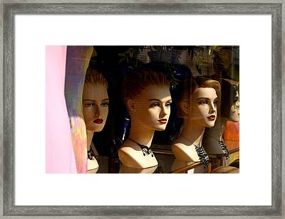 4 Of Us Framed Print by Jez C Self