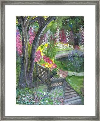 Oh How I Miss You Framed Print by Anne-Elizabeth Whiteway
