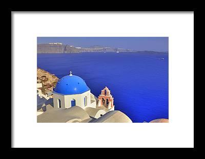 Greek Islands Framed Prints