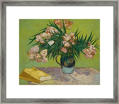 Oleanders Framed Print by Vincent van Gogh