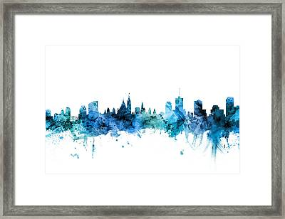 Ottawa Canada Skyline Framed Print