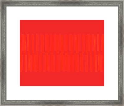 Overtly Subtle Framed Print by Carol Leigh