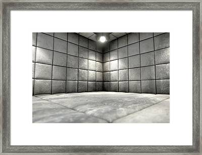 Padded Cell Dirty Framed Print by Allan Swart