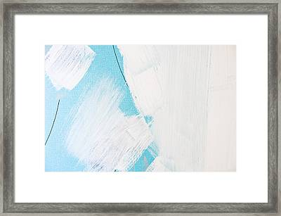 Paint Marks Framed Print by Tom Gowanlock