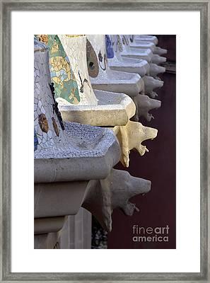 Park Guell Framed Print