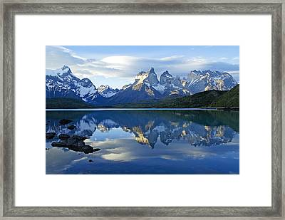 Patagonia Reflection Framed Print