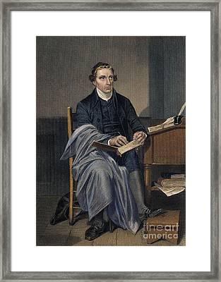 Patrick Henry (1736-1799) Framed Print by Granger