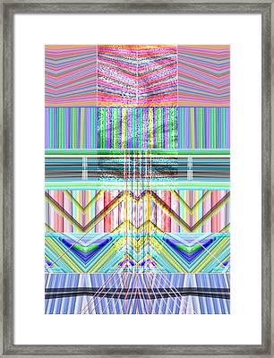 Peruvian Tubes Framed Print by Sandrine Kespi