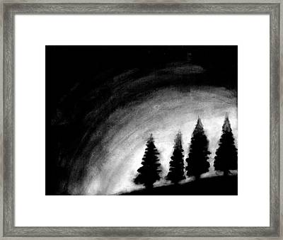4 Pines Framed Print
