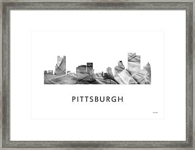 Pittsburgh Pennsylvania Skyline Framed Print