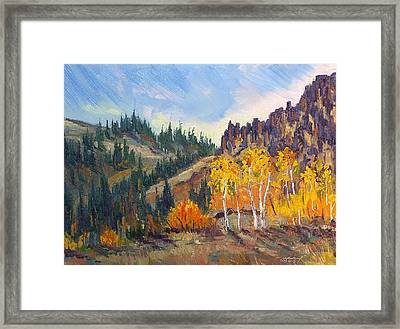 Plein Air Series Framed Print by Len Sodenkamp