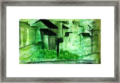 Pop Arts Landscapes Framed Print by J j Jin