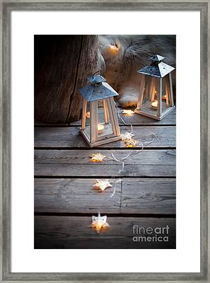 Porch Decoration Framed Print by Kati Molin