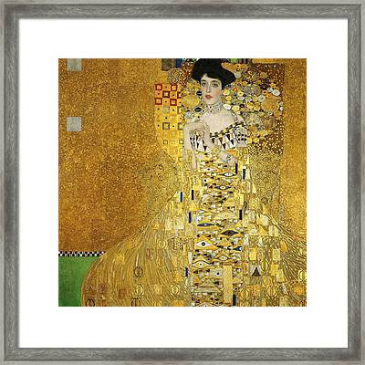 Portrait Of Adele Bloch-bauer I Framed Print