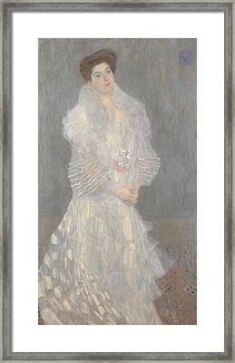 Portrait Of Hermine Gallia Framed Print
