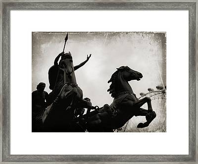 England's Queen Boudica  Framed Print by JAMART Photography