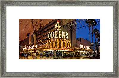 4 Queens Casino Entrance Framed Print